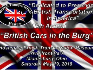 British Cars in the Burg