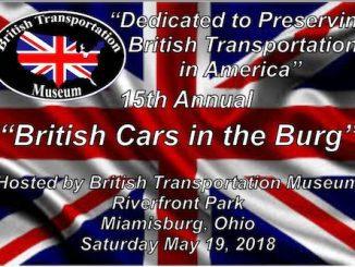 British Cars in the Burg