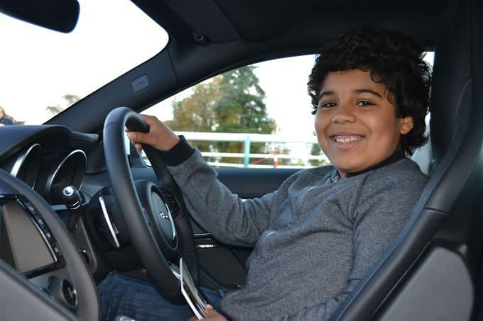 Jaguar First Adds F-TYPE to UK Youth Driving Experience