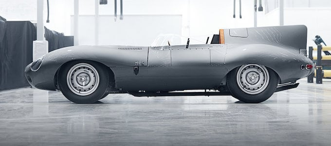 Jaguar Restart D-Type Production