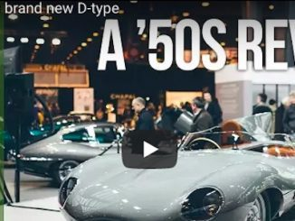 Jaguar's New D-Type at Retromobile