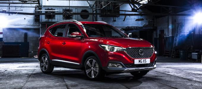 MG ZS - MG Named UK's Best Performing Car Brand in January