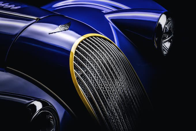 Further Tease of Morgan Plus 8 50th Anniversary Edition