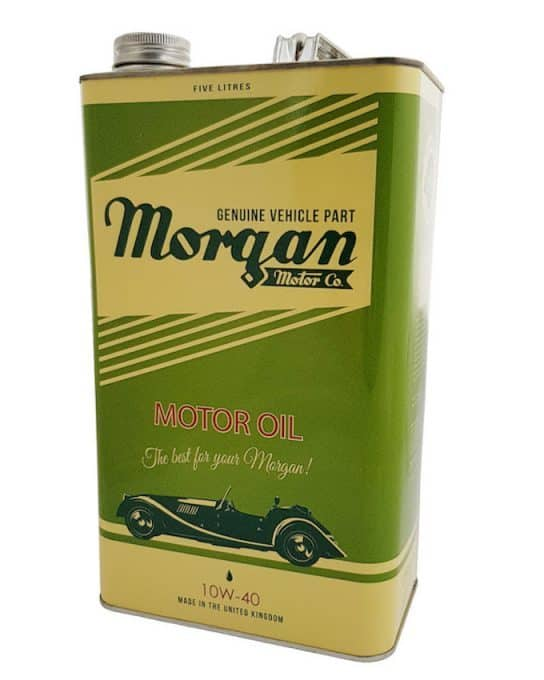Morgan Motor Oil