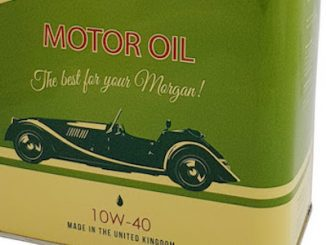 Morgan Motor Oil Header