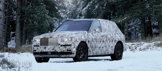NAME OF NEW HIGH-BODIED VEHICLE TO BE ROLLS-ROYCE CULLINAN - 3