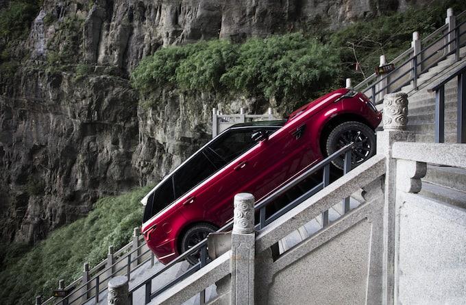Range Rover Sport PHEV – Dragon Challenge