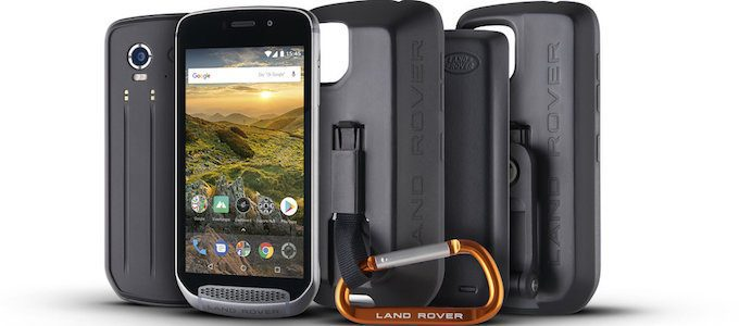 THE CELLPHONE THAT'S AS TOUGH AS A LAND ROVER DISCOVERY