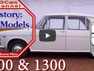 VotW - MG1100 from The MG Cars Channel
