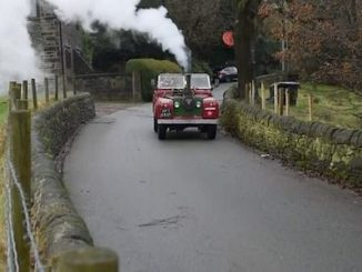 VotW - Pensioner Builds Steam Land Rover