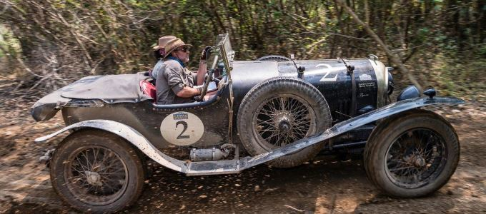 1925 Bentley Super Sports of Graham and Marina Goodwin - Bentley Reigns Supreme in Road to Saigon Rally