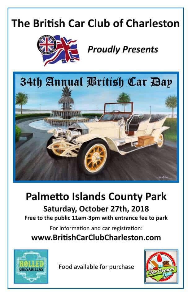 British Car Day Charleston