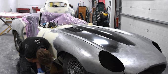E-Type UK Bodyshop 3