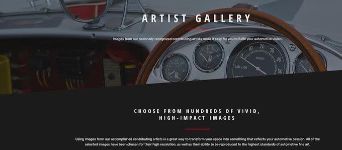 Garage Graphics - Artists Gallery