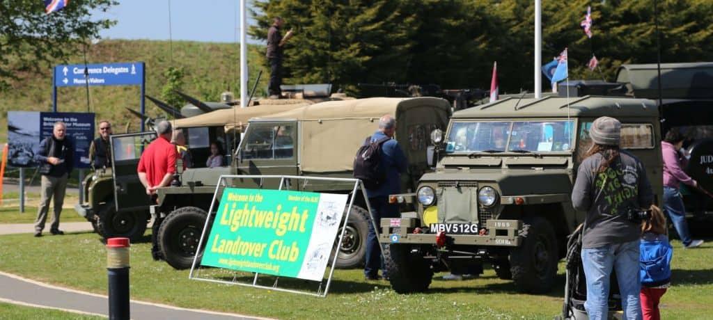 Gaydon Land Rover Show