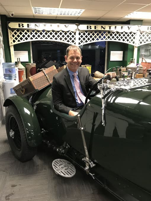 Henry Platt - New Appointments at William Medcalf Vintage Bentley