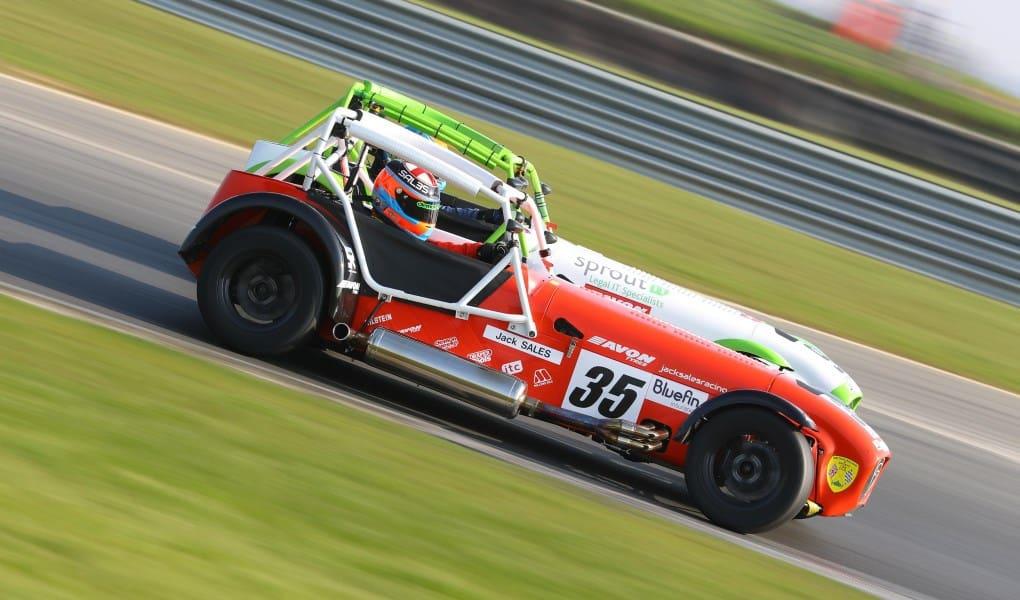 Caterham Challenge Cup - British Racing on American Soil - Just British