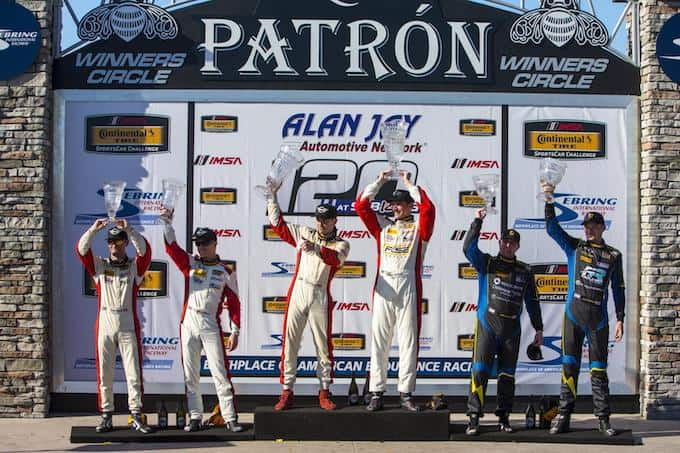 MINI JCW Team Finishes 1 - 2 in the Street Tuner Class of the Continental Tire SportsCar Challenge Series at Sebring