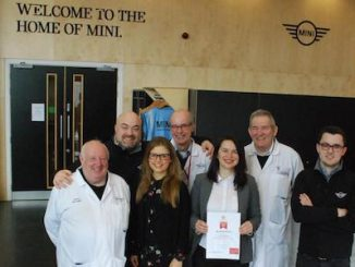 MINI Plant Oxford tours receive VisitEngland Tourism accolade