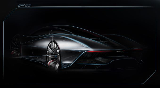 McLaren BP23 rear sketch
