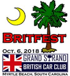 Myrtle Beach Britfest 2018 Car Show