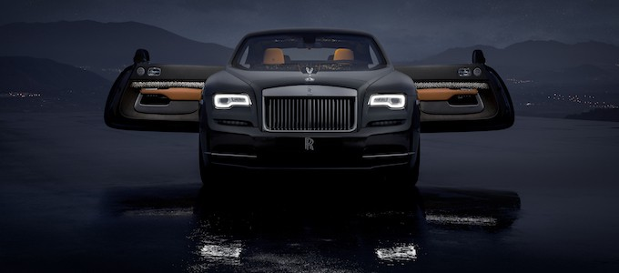 Rolls-Royce Bespoke Wraith Luminary Collection 2