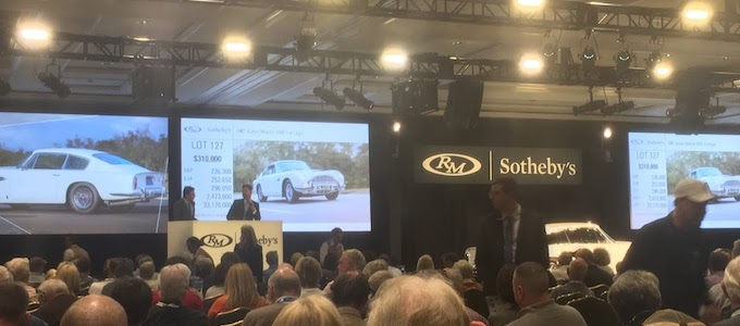 Sotheby's Auction Results from the Amelia Island Concours d' Elegance - Aston Auction