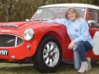 The Rise in Female Classic Car Owners - Trish Cecile-Pritchard - Austin Healey 3000