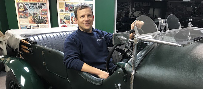 Tom Jamieson - New Appointments at William Medcalf Vintage Bentley