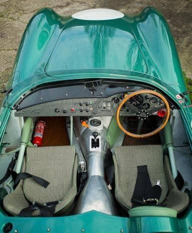2013 Evanta Aston Martin DBR1 interior shot 3
