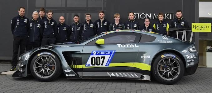 Aston Martin Confirms 2 Cars for Zurich Race