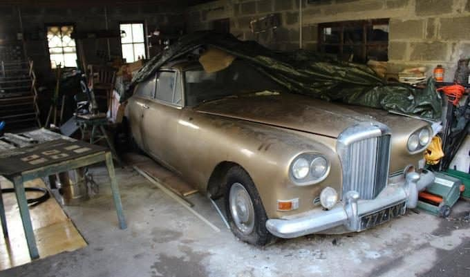 Barn find 1963 Bentley Continental Mulliner Park Ward S3_COYS_Spring Classics 2018_1