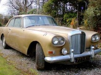 Barn find 1963 Bentley Continental Mulliner Park Ward - Coys Spring Classics 2018