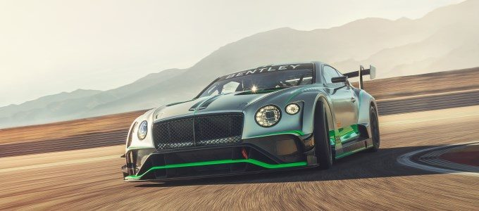 Bentley Continental GT3 - To Debut at Monza