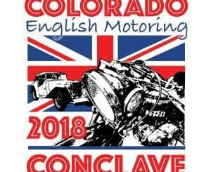 Colorado English Motoring Conclave 2018