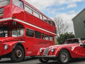 Header -MORGAN MOTOR COMPANY TO BRING ICONIC ROUTEMASTER BUS – THE SECOND-TO-LAST WITHDRAWN FROM SERVICE – BACK TO THE PUBLIC