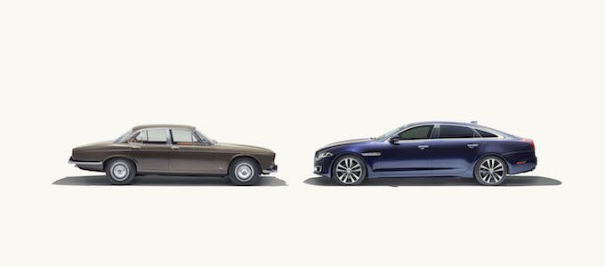 Jaguar XJ50 Marks 50 Years of the Legendary Sedan