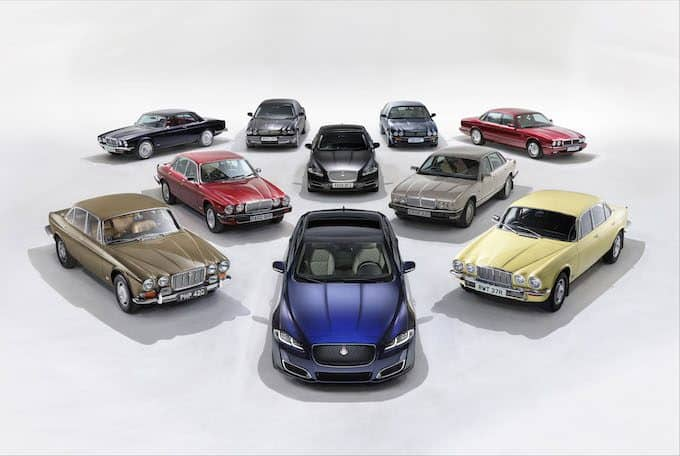 Jaguar XJ50 Marks 50 Years of the Legendary Sedan - Group