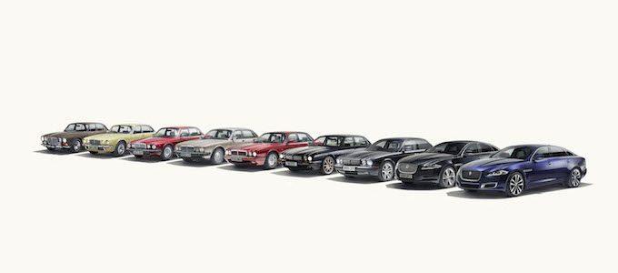 Jaguar XJ50 Marks 50 Years of the Legendary Sedan - Lineup
