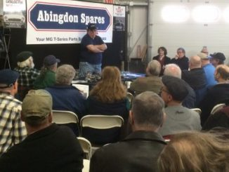 Joe Curto Packs the House at Abingdon Spares 1