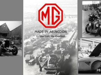 MG, Made In Abingdon Echoes from the Shop Floor - Header