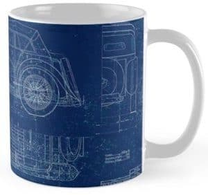 MG TC Blueprint Mug