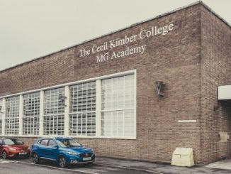 MG's Cecil Kimber College Achieves Accreditation - Exterior View