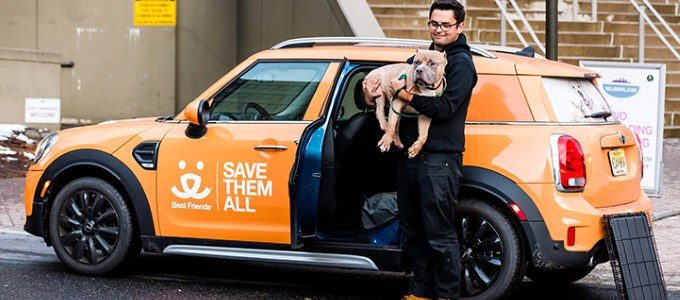 MINI Proud to Support Best Friends Mission