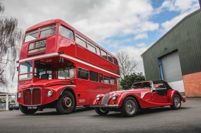 MORGAN MOTOR COMPANY TO BRING ICONIC ROUTEMASTER BUS – THE SECOND-TO-LAST WITHDRAWN FROM SERVICE – BACK TO THE PUBLIC