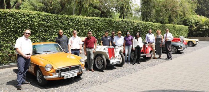 Meet and greet group shot - MG Car Club Set for Expansion in India