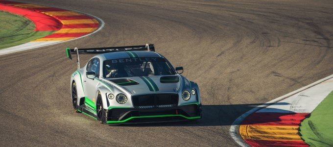 Monza Debut for New Bentley Continental GT3
