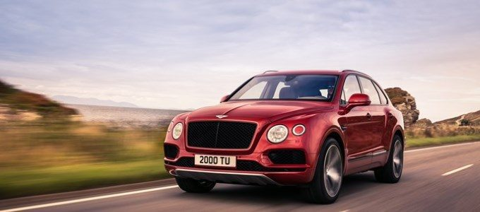 NEW BENTAYGA V8 TO STAR AT 2018 BEIJING AUTO SHOW