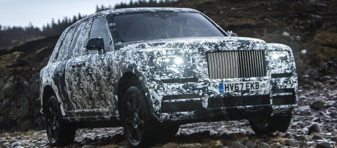 Rolls-Royce Cullinan Conducts Its Final Challenge