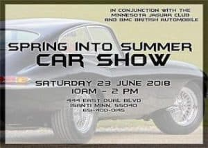 Spring Into Summer Vintage Foreign Car Show
